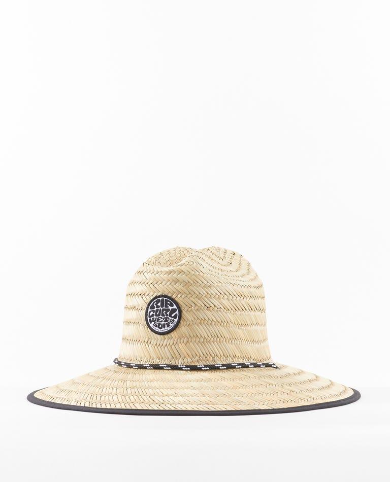 Icons Straw Hat in Khaki