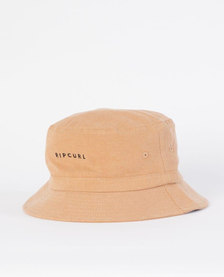 Valley Bucket Hat in Almond