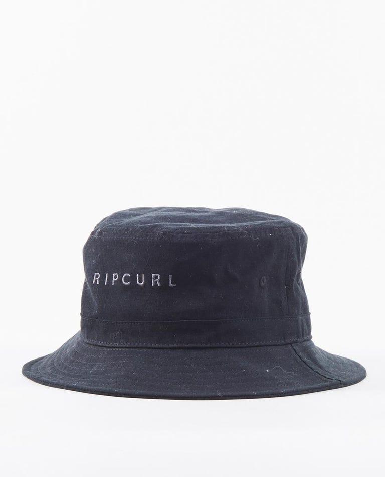 Valley Bucket Hat in Black