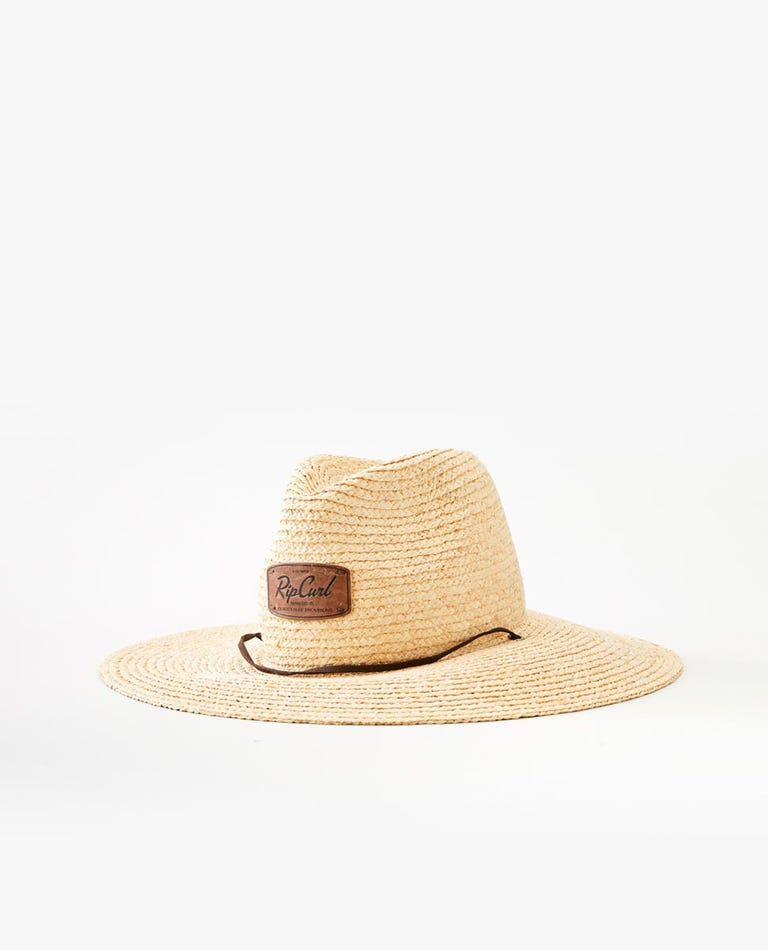 Lowers Straw Hat in Natural