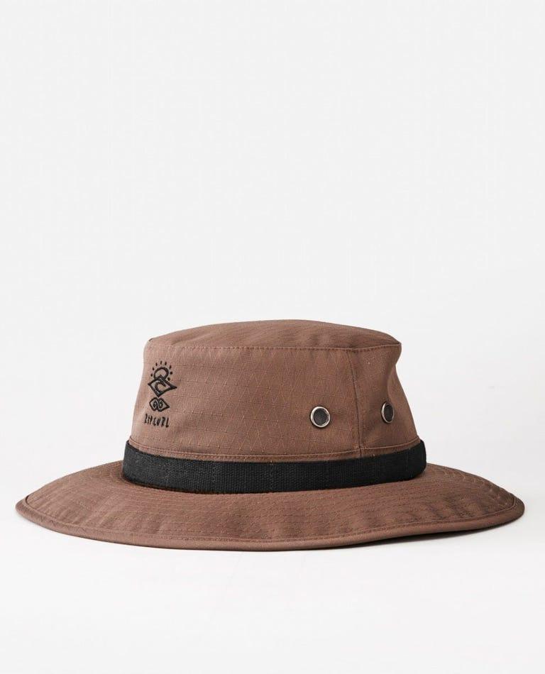 Searchers Wide Brim Hat in Kangaroo