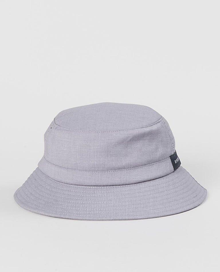Phase Wide Brim Hat in Blue