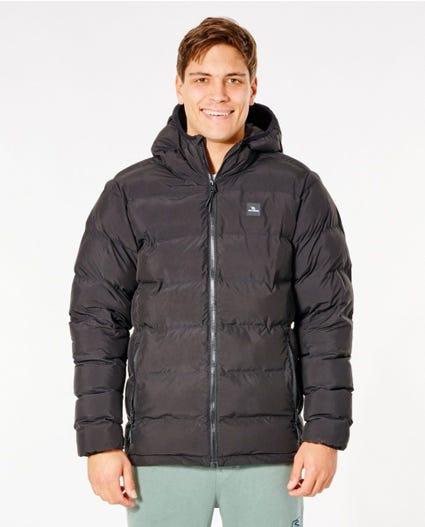 Glacier Anti-Series Puffer Hooded Jacket in Black