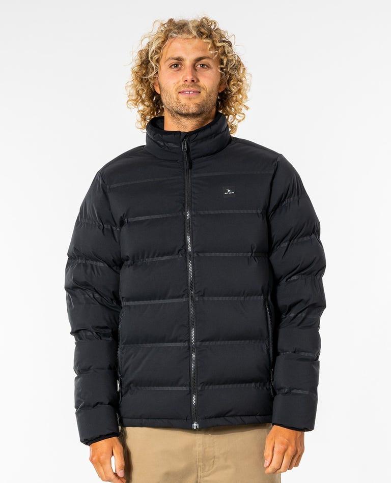Glacier Anti-Series Puffer Jacket in Black