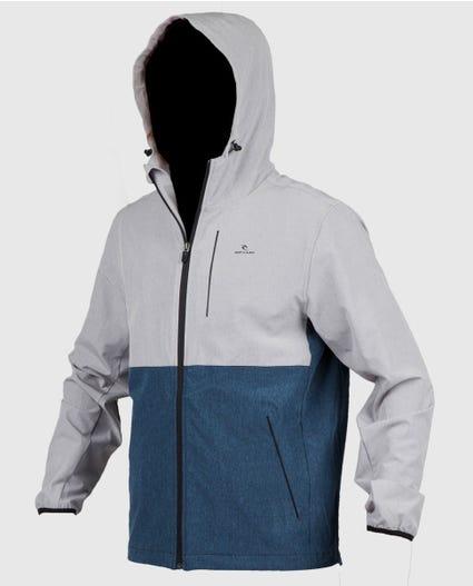 Elite Anti Series Windbreaker Jacket in Athletic Heather