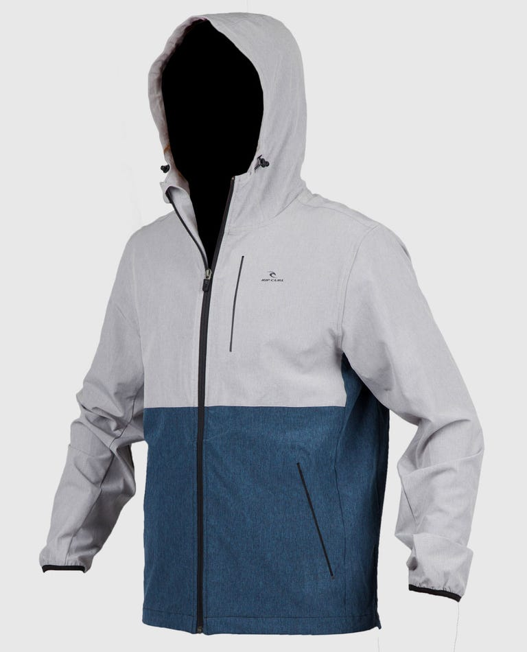 Elite Anti Series Windbreaker Jacket in Athletic Heather