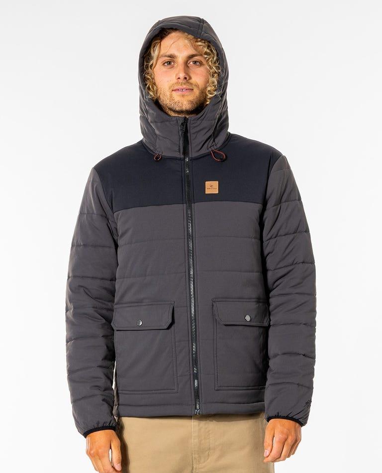 Ridge Anti-Series Jacket in Washed Black