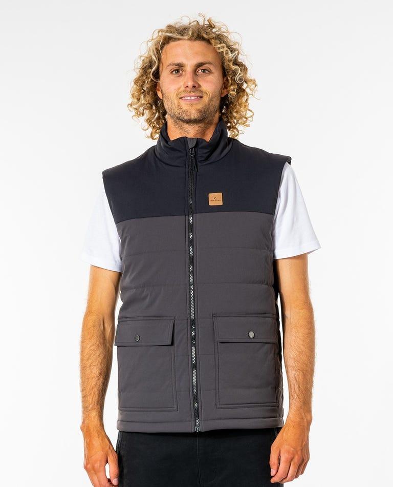 Ridge Anti-Series Vest in Washed Black