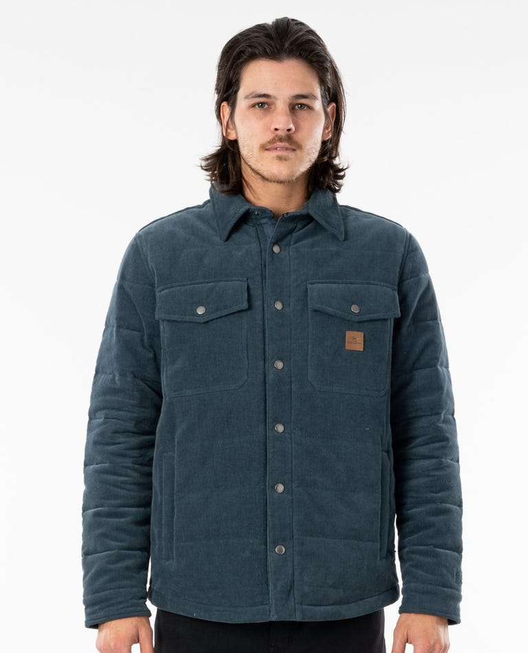 Convoy Anti Series Jacket in Washed Navy