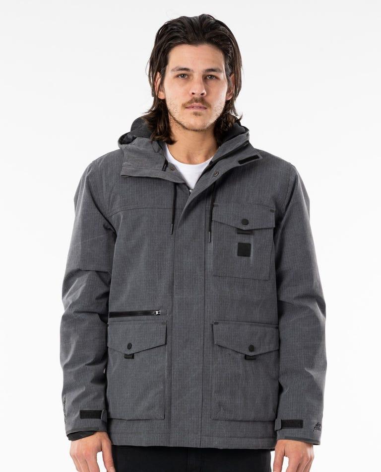 Heatseeker Anti-Series Hooded Jacket in Black