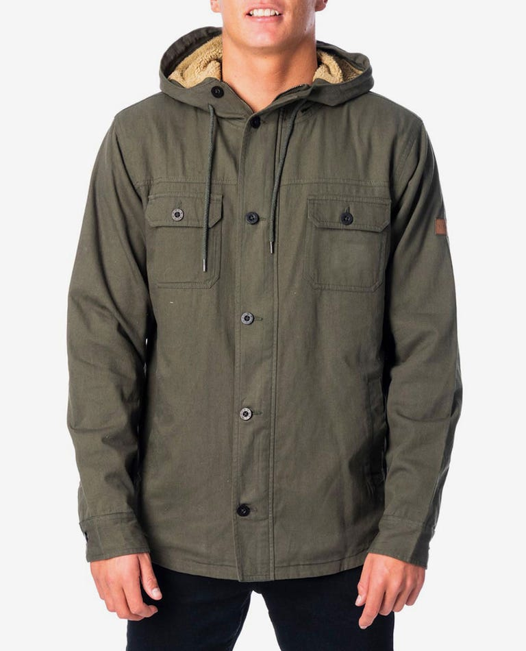 Gibbos Jacket in Green