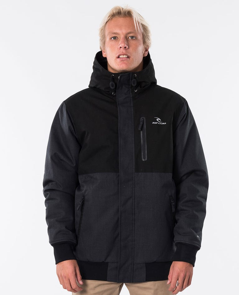 Sona Anti-Series Jacket in Washed Black
