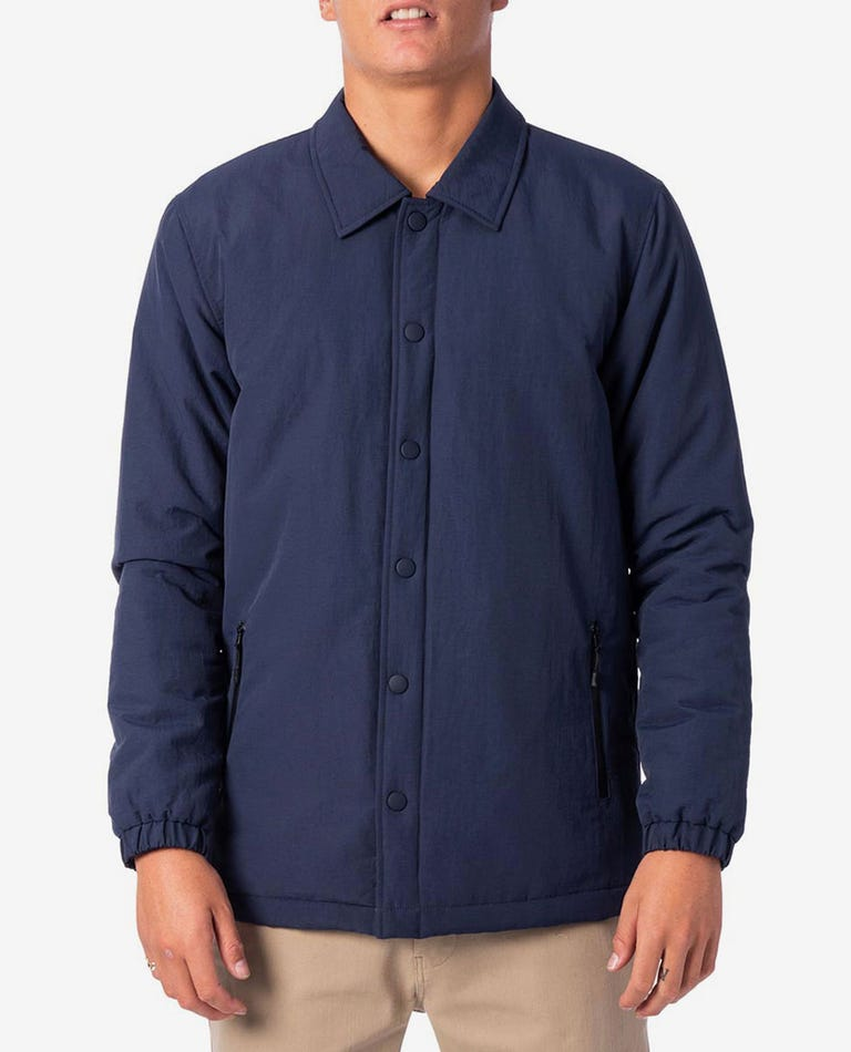 Searchers Layover Shacket in Navy