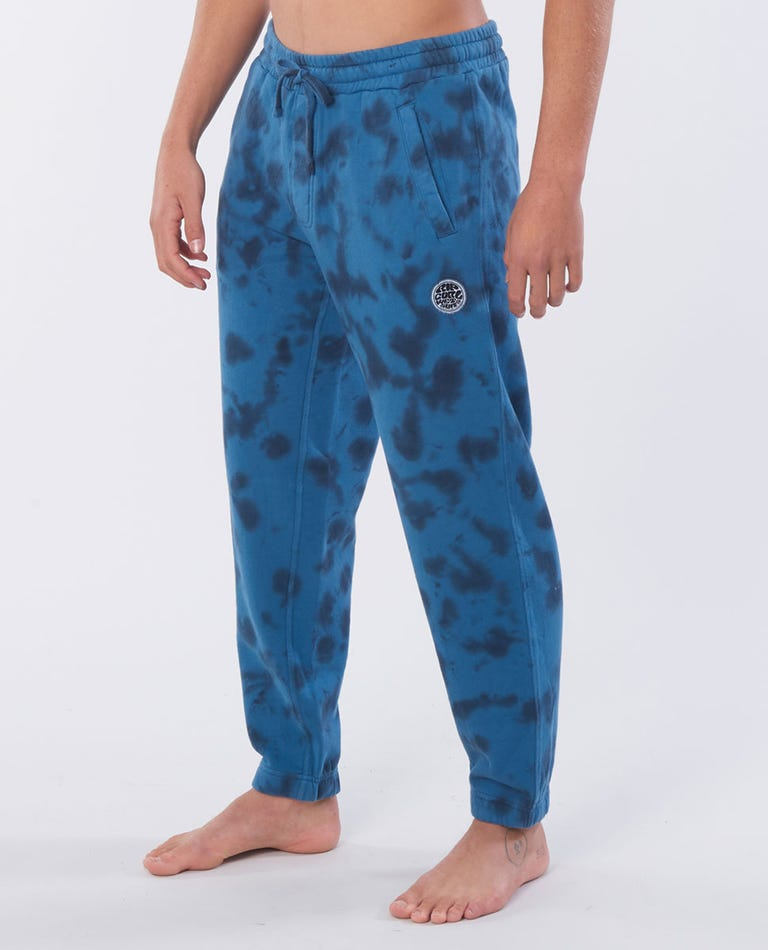 Original Surfers Cotton Track Pant in Navy