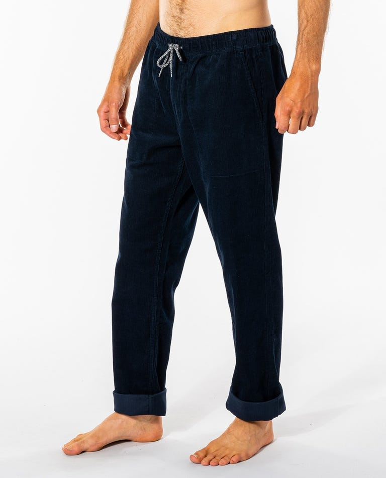 SWC Cord Pant in Navy