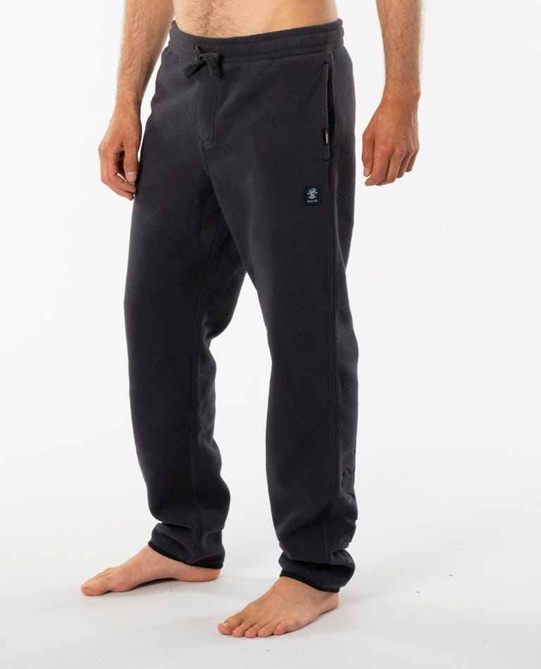 Searchers Deeper Track Pant in Washed Black