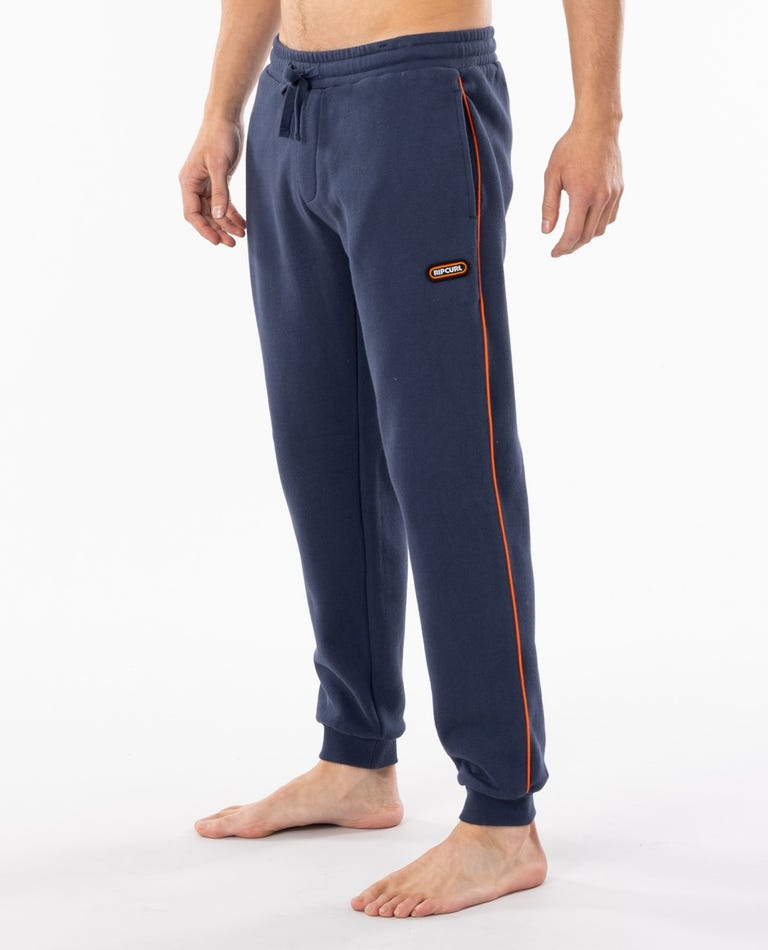 Surf Revival Trackpant in Navy