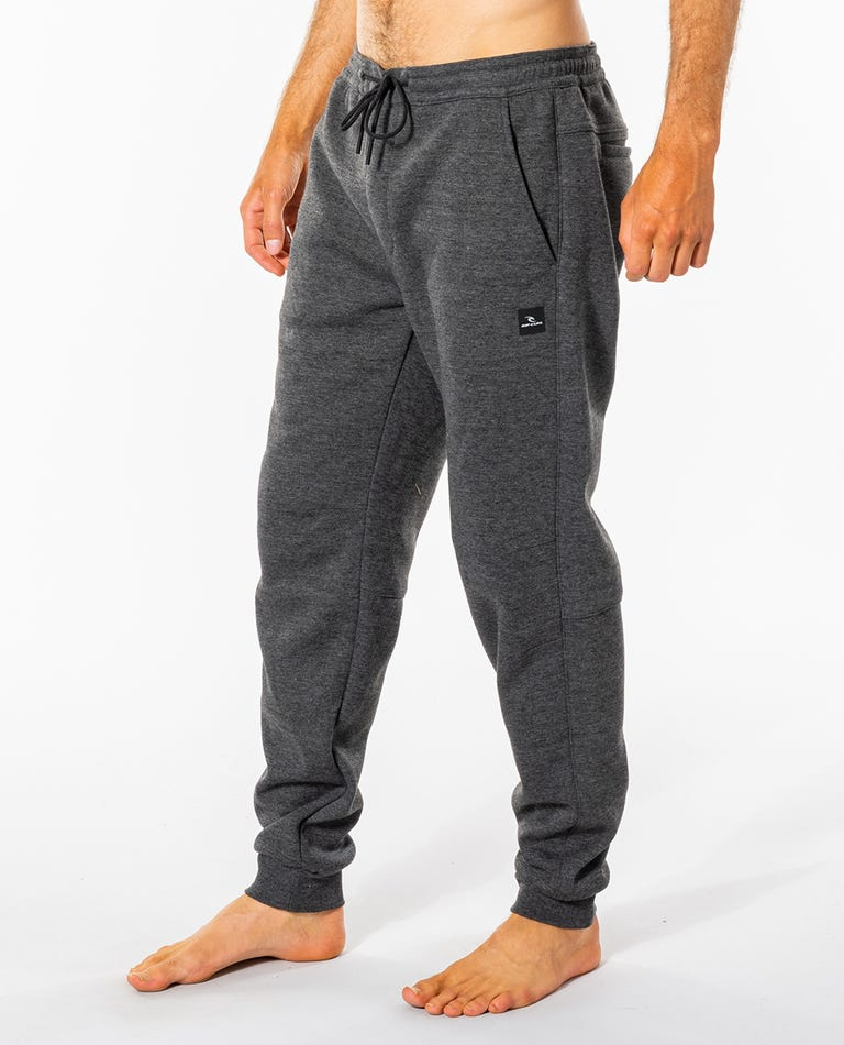 Departed Anti-Series Trackpant in Charcoal Grey