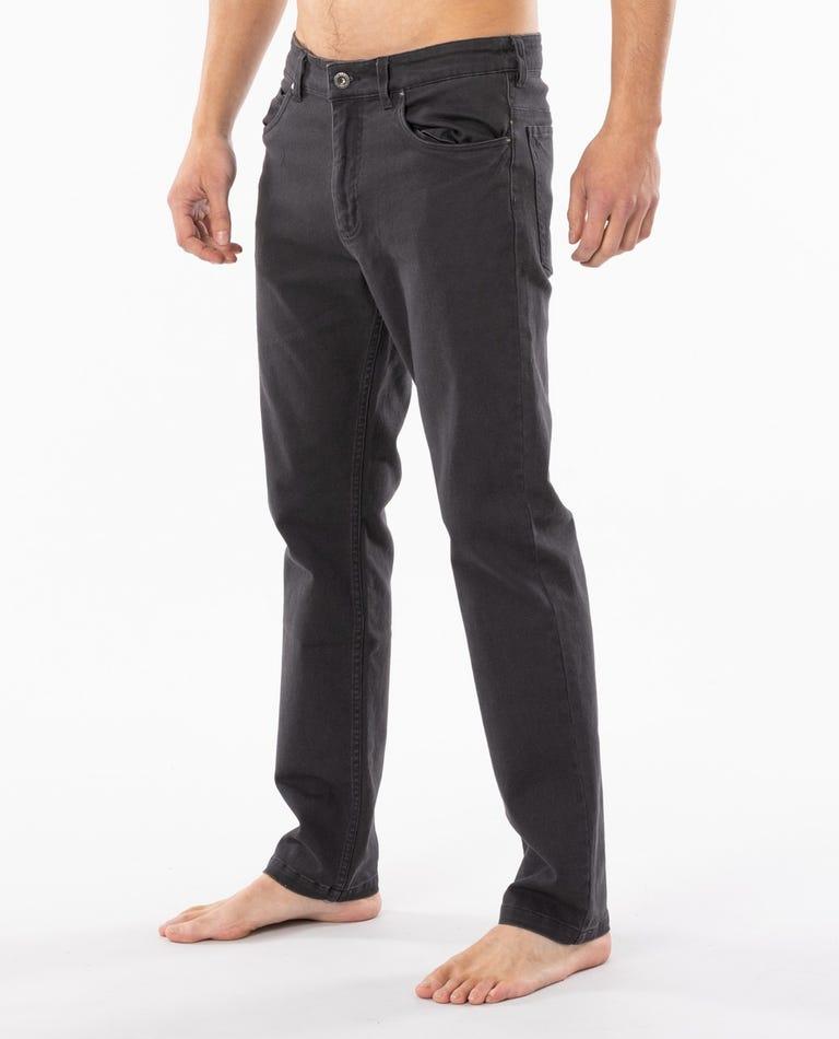Epic 5 Pocket Pant in Black