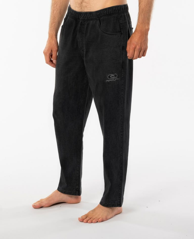 Re-Issue Rugby Pant in Washed Black