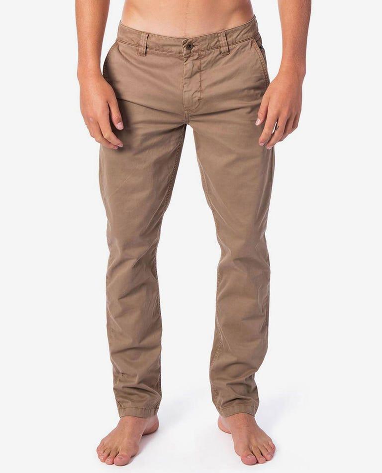 Savage Slim Pant in Khaki