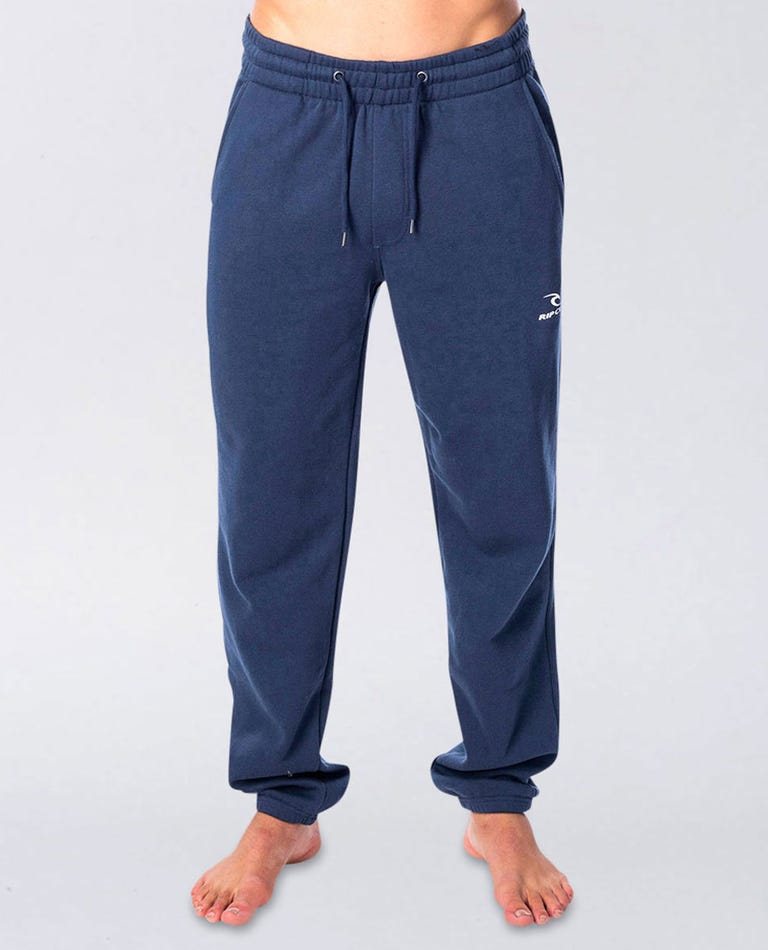 Icon Track Pant in Navy