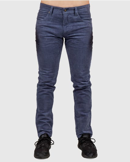 Refined Slim Pants in Navy