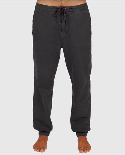 Set Up Fleece Pants in Charcoal