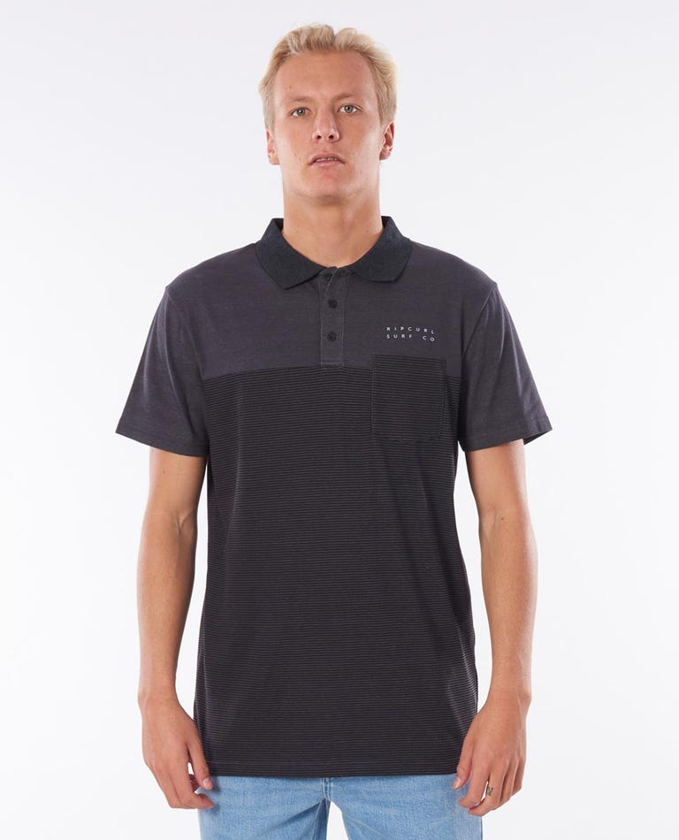Constructor Polo in Black