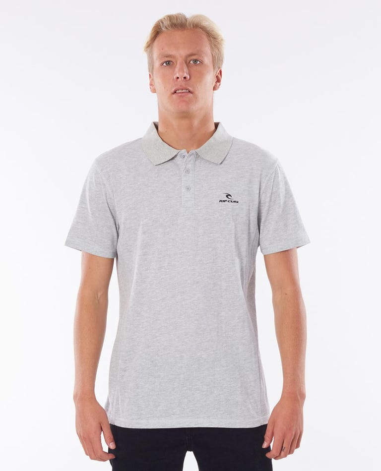 Pivoting Polo in Grey Marle