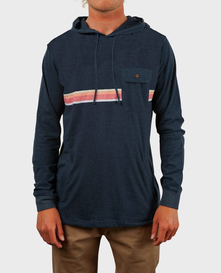 Highway Long Sleeve Knit in Navy