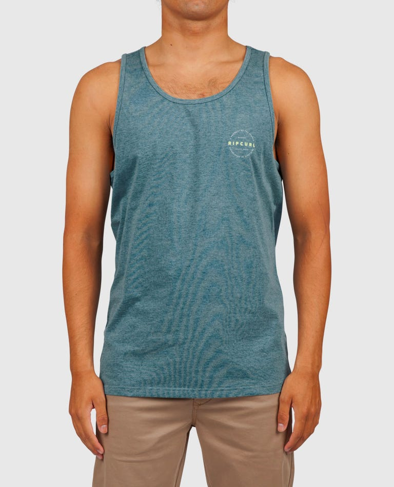 Foundation Vapor Cool Tank in Teal