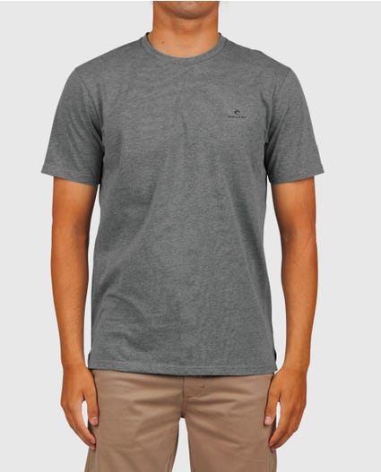 Stand By Vapor Cool Tee in Charcoal