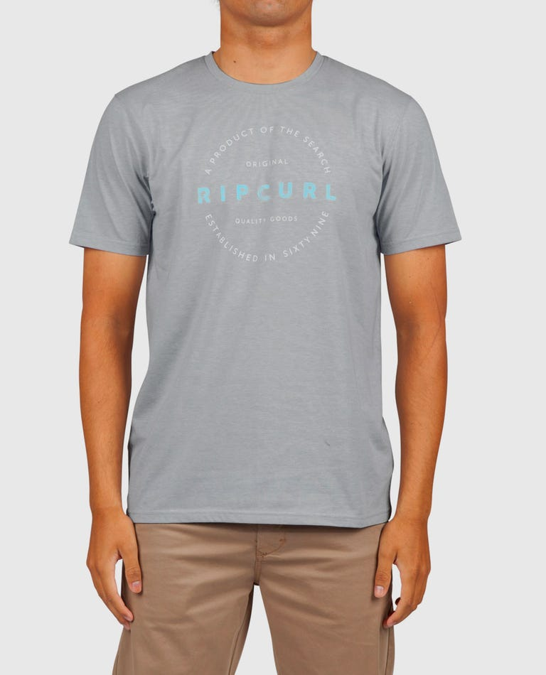 Foundation Vapor Cool Tee in Athletic Heather