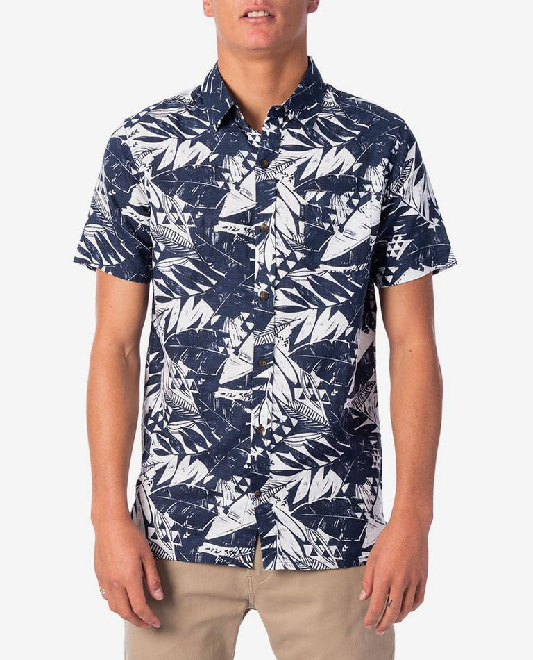 Blue Highway Short Sleeve Shirt in Indigo