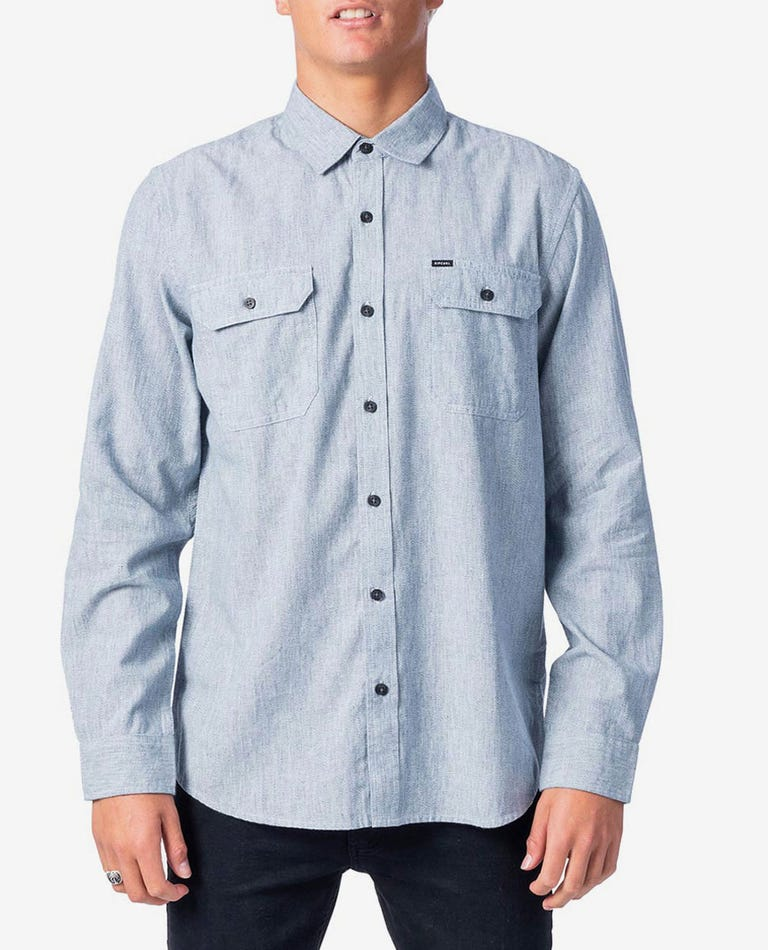 Pacho Flannel Shirt in Blue