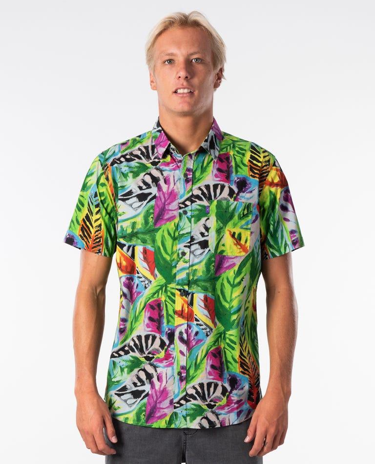 Flowershop Short Sleeve Shirt in Multi