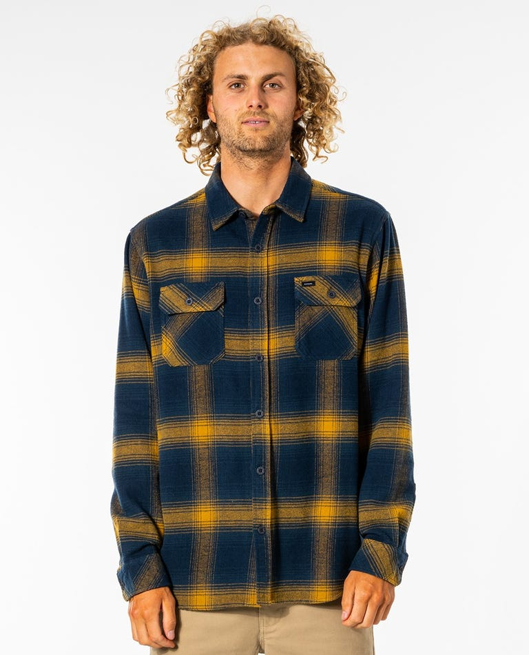 Count Long Sleeve Shirt in Gold
