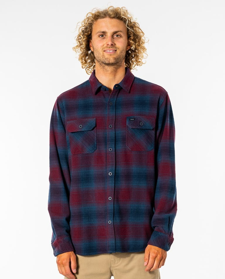 Count Long Sleeve Shirt in Maroon