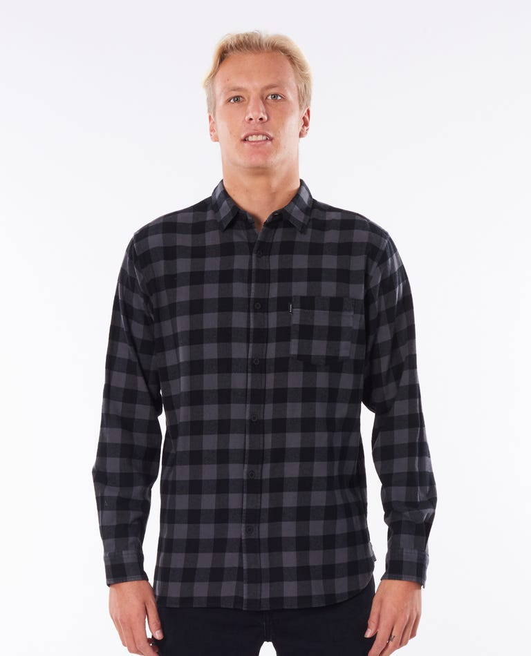 Check This Long Sleeve Shirt in Black