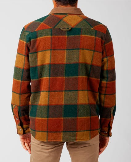 Sundown Wool Flannel in Brown