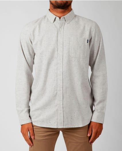 Brody Long Sleeve Shirt in Navy