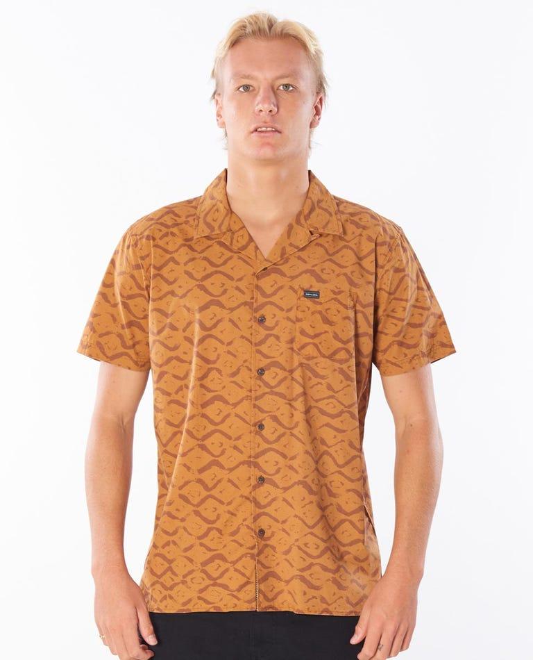 OG Bukit Short Sleeve Shirt in Almond