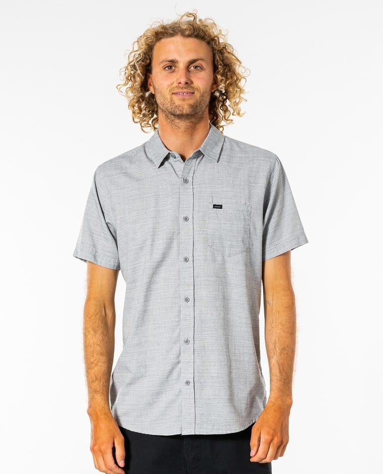 Jabbot Short Sleeve Shirt in Light Grey