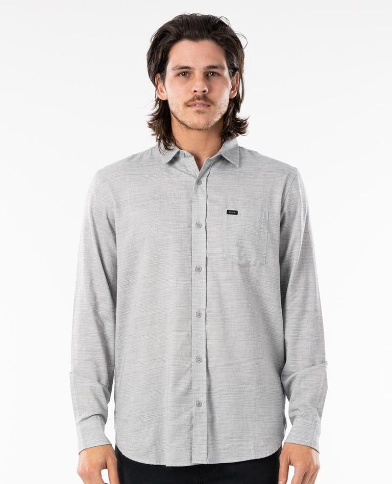 Jabbot Long Sleeve Shirt in Light Grey