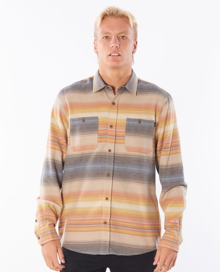 East Cape Flannel in Khaki
