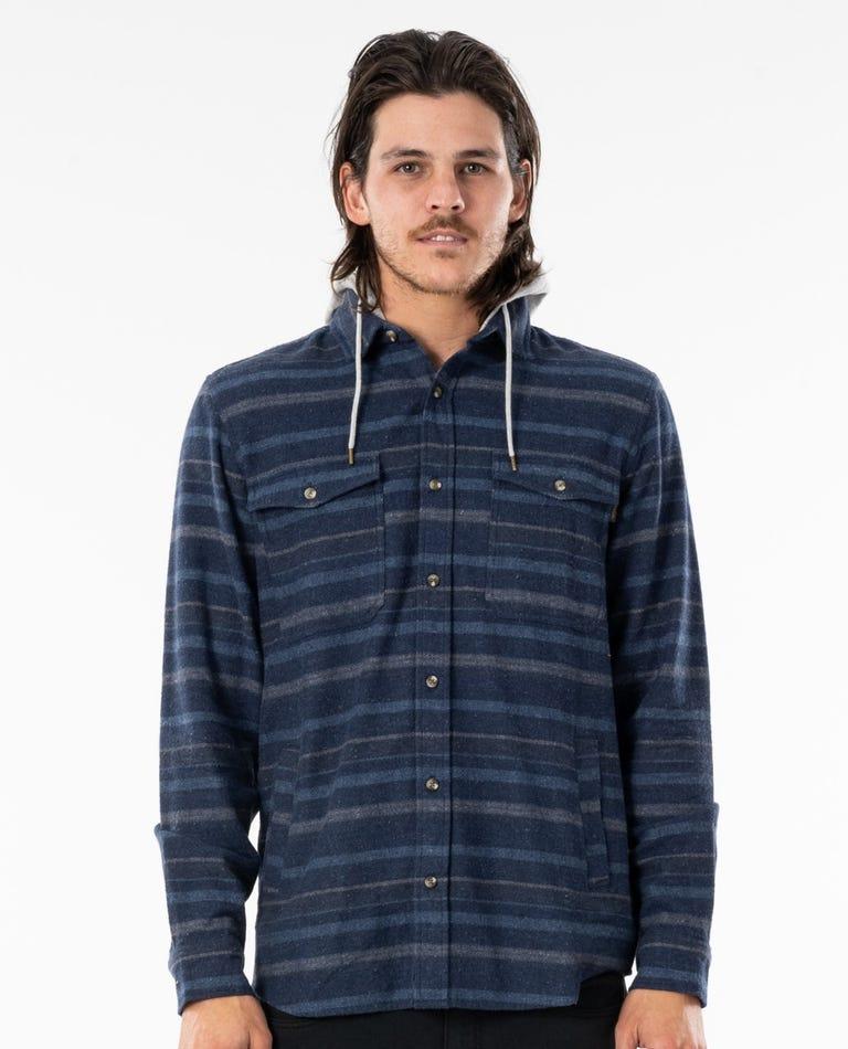 Ranchero Flannel Shirt in Navy