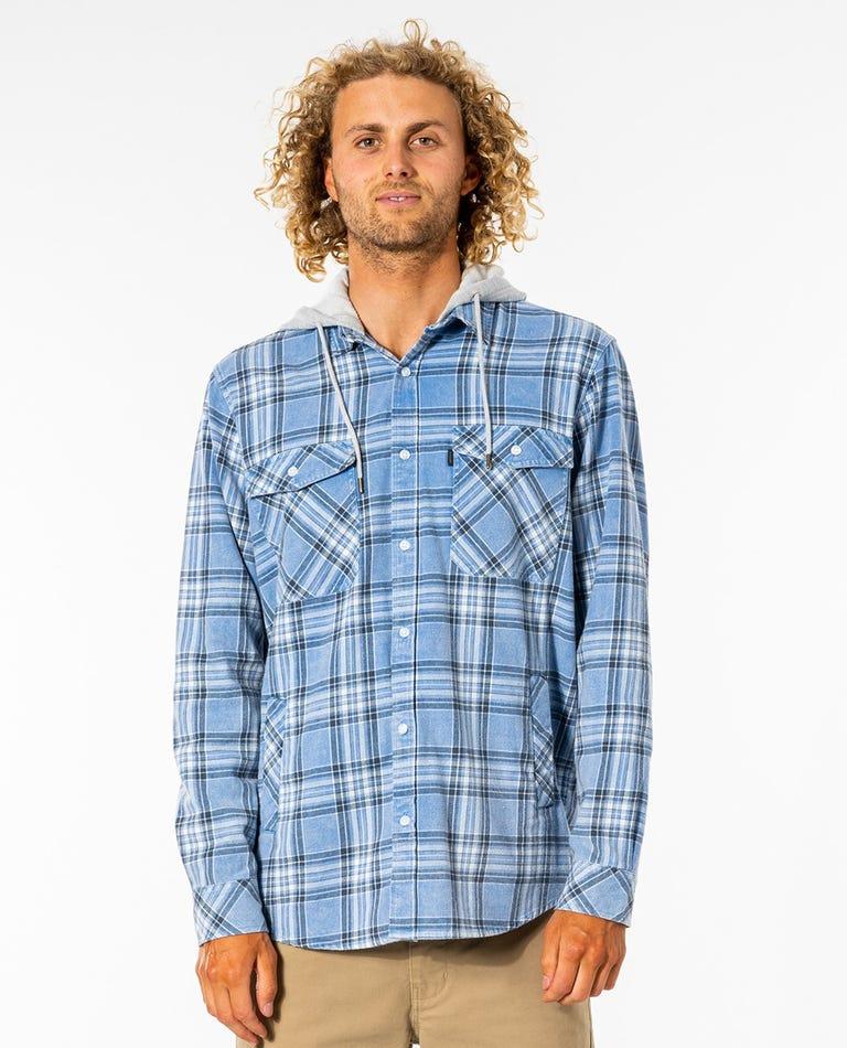 Ranchero Flannel Shirt in Blue