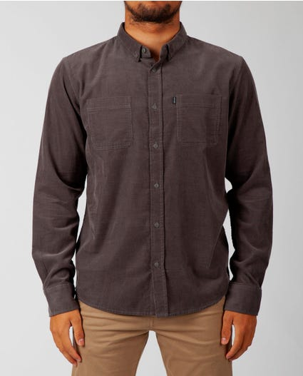 Rad Long Sleeve Shirt in Charcoal