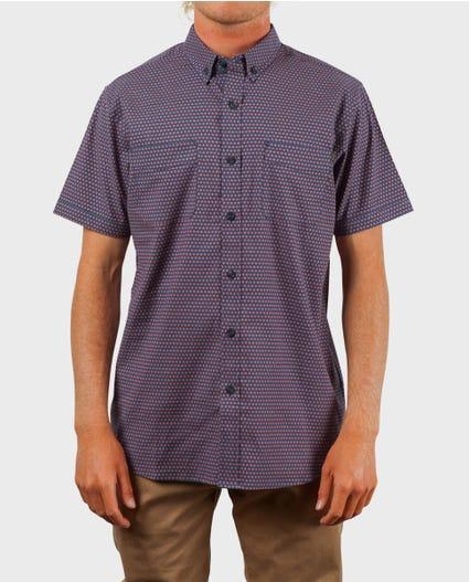 Breach Short Sleeve Shirt in Blue